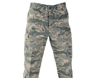 Authentic 32L Air Force ABU Pants Digital Camo Pattern