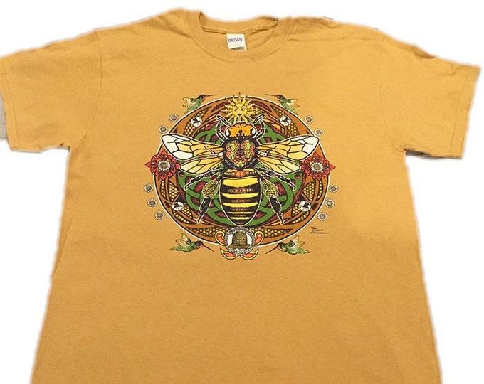 Grateful Bee Short-Sleeve Unisex T-Shirt