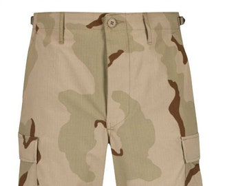 Large Long Trooper 3 Color Desert Camouflage Trouser Pants