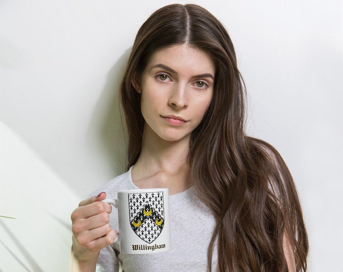 Willingham Coat of Arms Mug