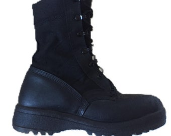 Men's Size 10 Propper International Military Jungle Tactical Combat Boot Black