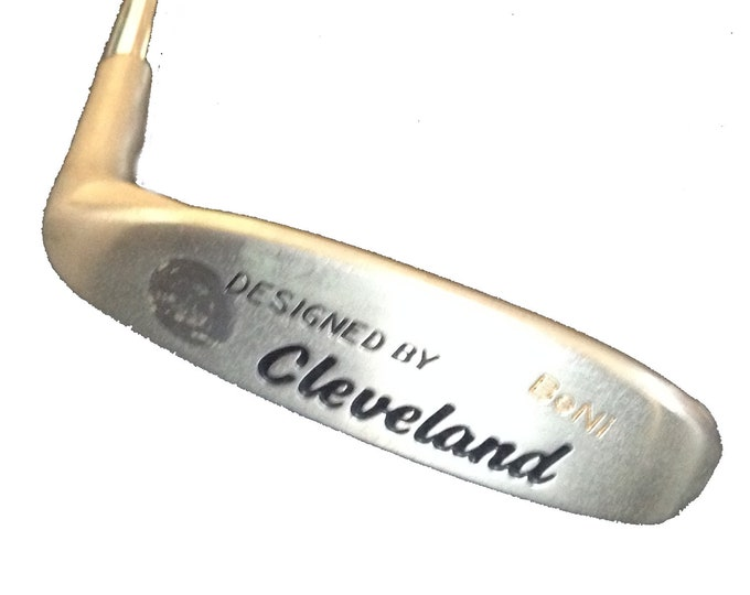 Vintage Golf Club Cleveland Classics *Designed by Crenshaw* BeNi Classic Blade Putter with Original Grip