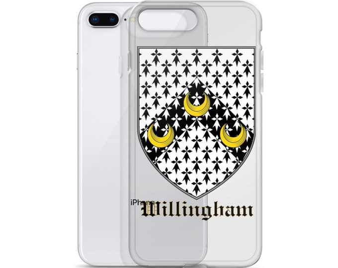 Willingham Coat of Arms iPhone Case