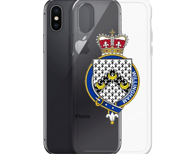 Willingham Family Crest iPhone Case