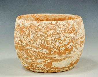 Marbled Micaceous Pot