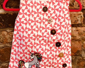Girls unicorn dress age 2-3 years
