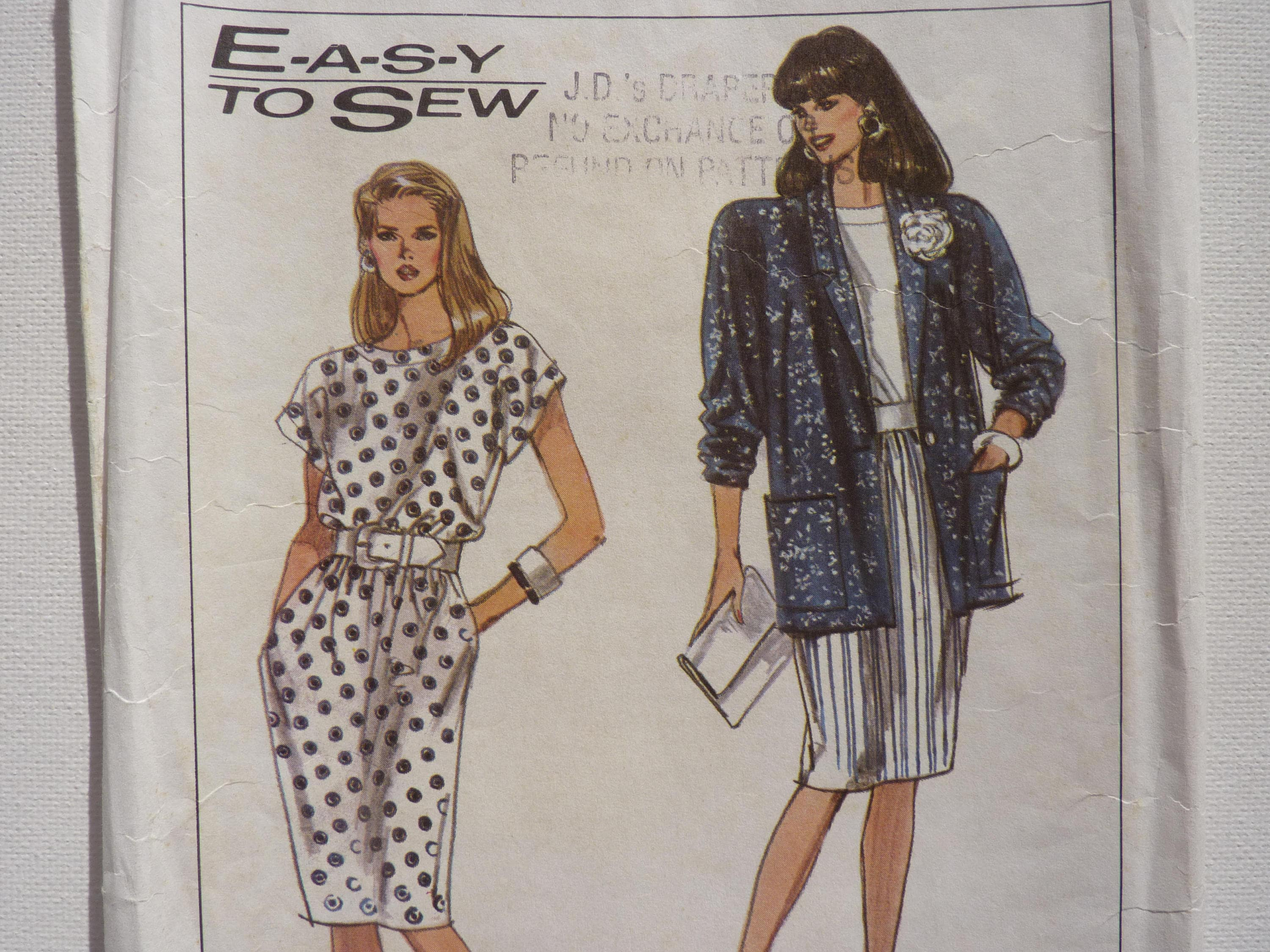 Simplicity Sewing Pattern 9045 La s Dress and Unlined