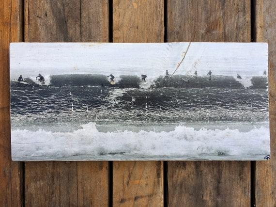 Photography Art: Double Wave