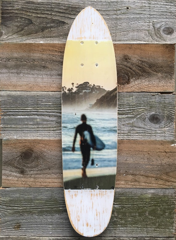 Skateboard Art: Surf Life