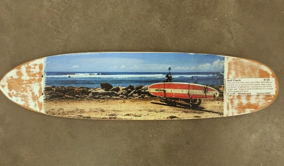 Skateboard Art: Surf Check