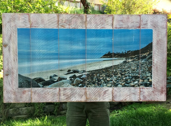 Beach Art: Endless Sea  (Free Shipping)