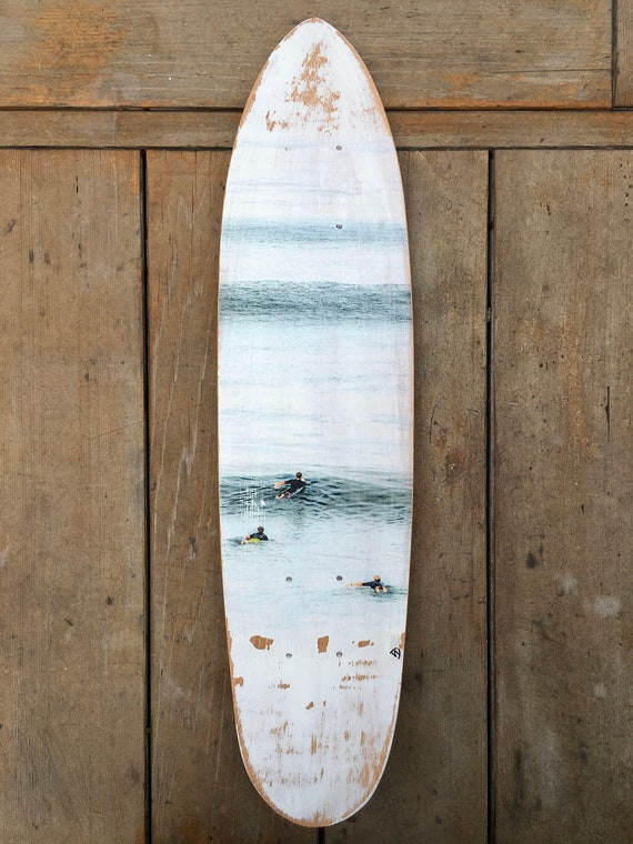 Skateboard Art: Summer Surf