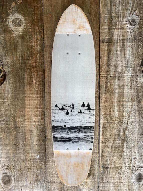 Skateboard Art: Surf Lineup