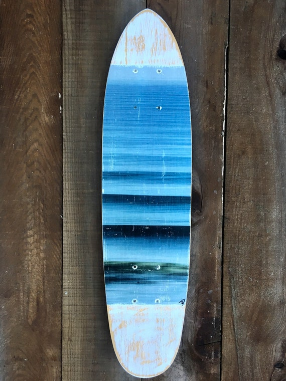 Skateboard Art: Waves for Days