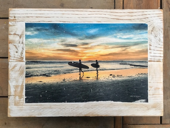 Photography Art: Sunset Surf