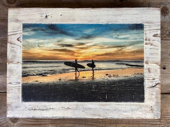 Photography Art: Sunset Surf