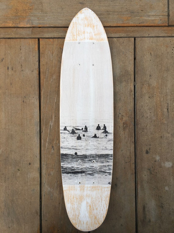 Skateboard Art: Surf Lineup