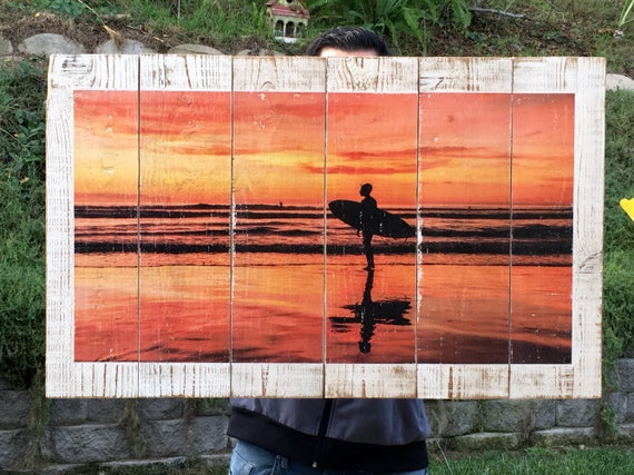 Surf Art: Reflection  (Free Shipping)