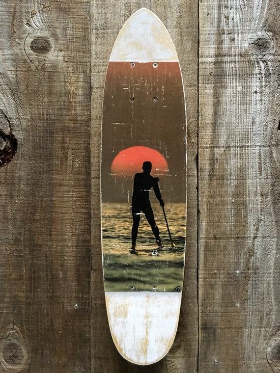 Skateboard Art: Follow the Sun
