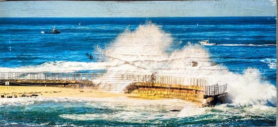 Photography Art: Crashing Wave