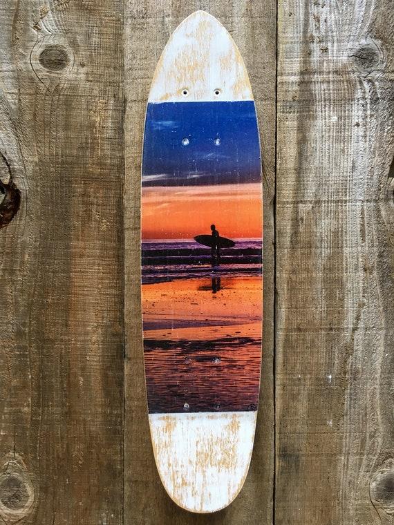 Skateboard Art: Heading Home