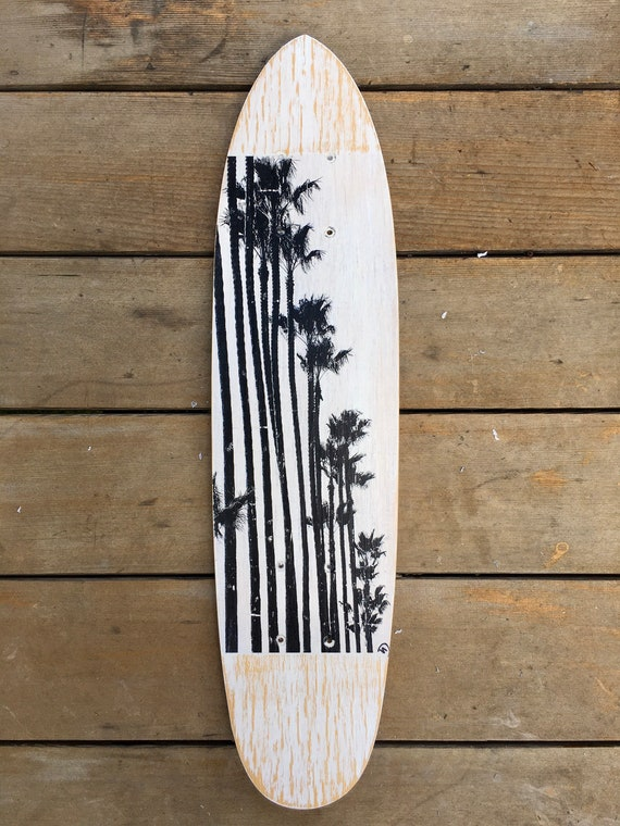 Skateboard Art: Tree Line