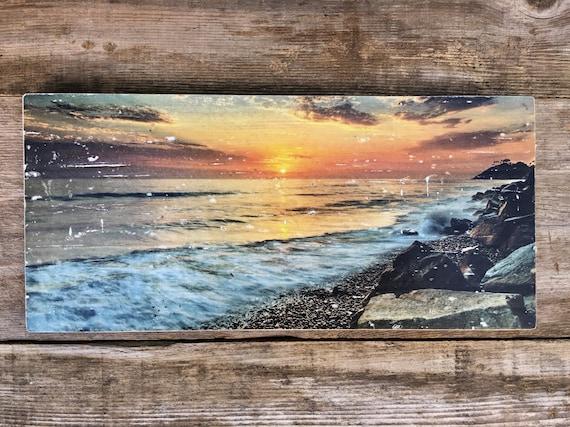 Ocean Art: Last Light