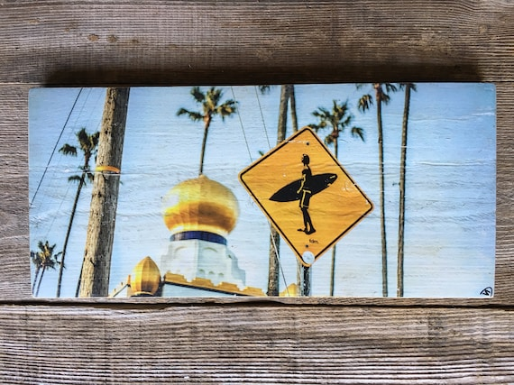 Photography Art: Surfer's Crossing