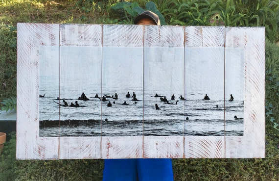 Surf Art: Surf Lineup  (Free Shipping)