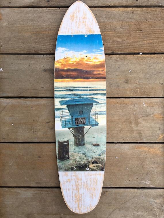 Skateboard Art: Pipes Sunset
