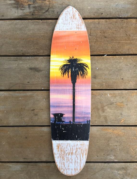 Skateboard Art: Lone Tree