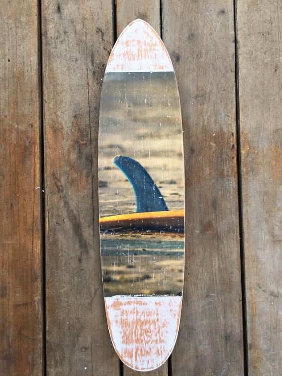 Skateboard Art: Singlefin