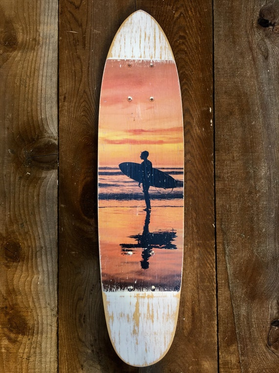 Skateboard Art: Reflection