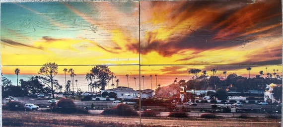 Photography Art: Swamis Sunset