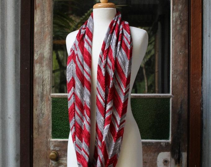 Yarn & Pattern Kit - 'Big Zig Loop Cowl' fingering/ 4 ply 100% Merino - 'Original' colourway.
