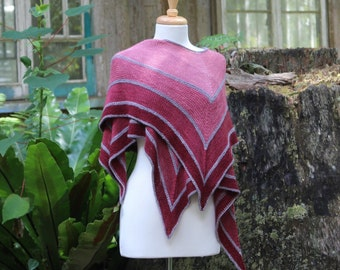 Ombre Hummingbird Wrap.  PATTERN ONLY!!!