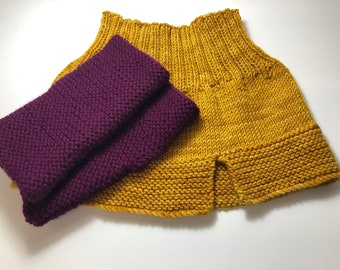Learn to knit class.