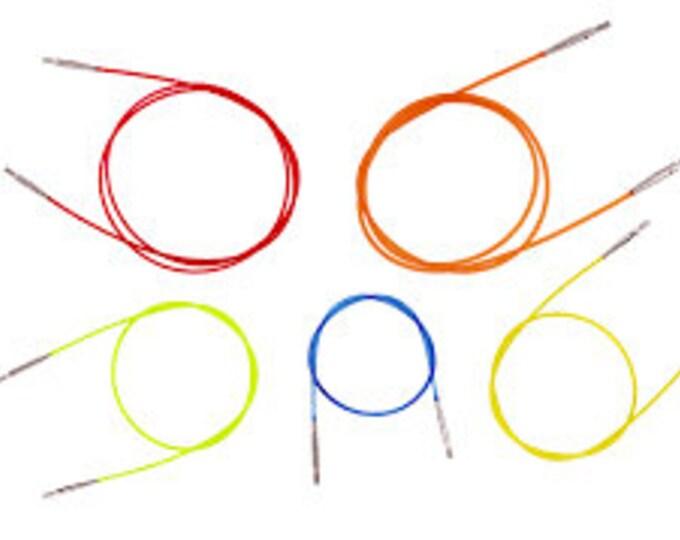 Interchangable circular knitting needle CABLES.  KnitPro.