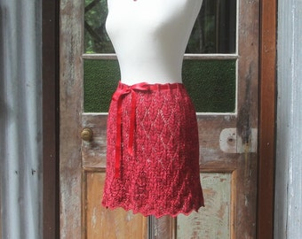 Autumn Leaves Lace Skirt.  PATTERN ONLY!!!