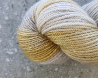 Hand dyed yarn - 115g Fine Superwash Merino -  DK weight (8 ply) in 'Lustre'