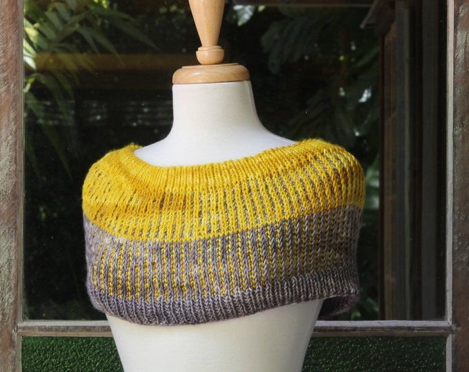 Quick 'n Squishy Cowl Pattern.  PATTERN ONLY!!!