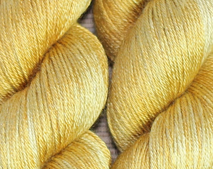 Hand dyed yarn - 'Spun Toffee' - dyed to order on your choice of base yarn.