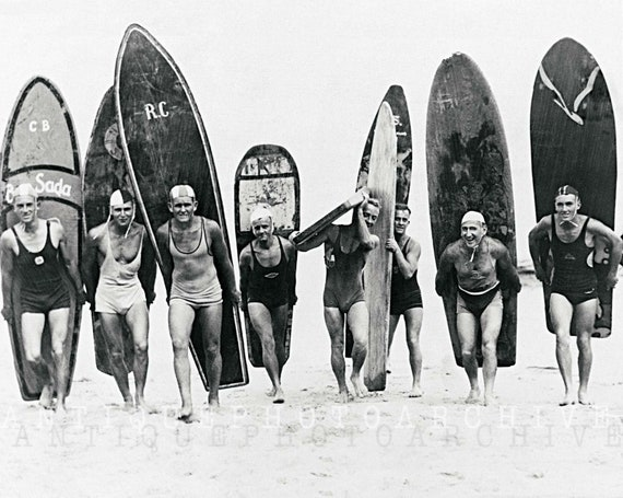 Black And White Vintage Beach Photography