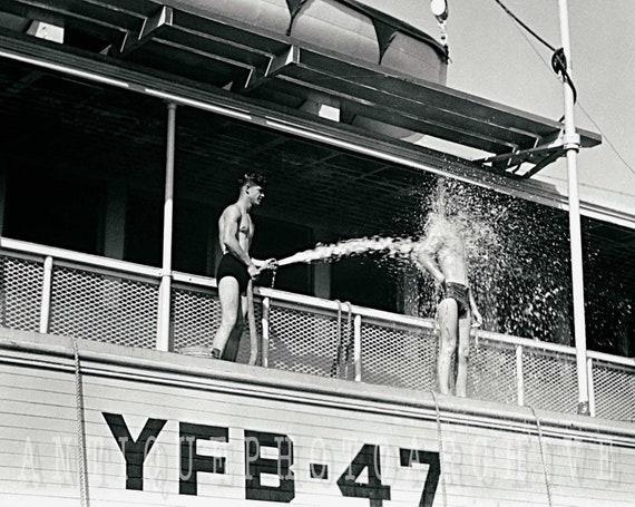 BUY 2 navy rare PHOTO sailor Physique beefcake Gay interest GET 1 FREE