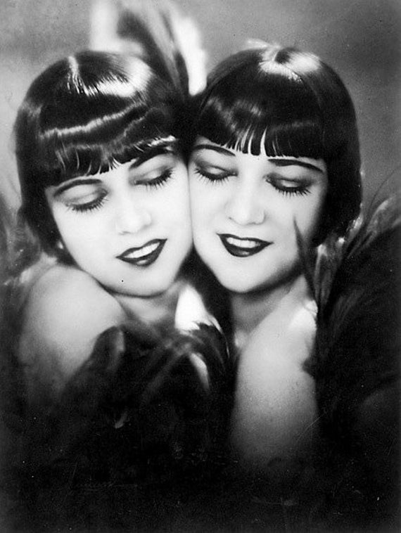 - Historic Photo Print 2 The Dolly Sisters Vaudeville Performers