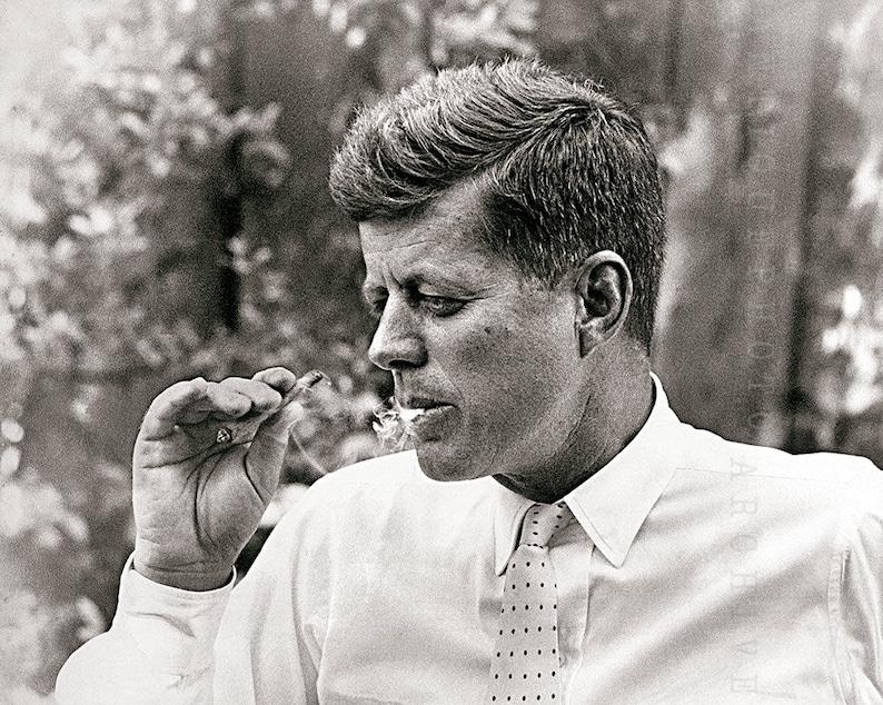645c9041667 JFK President John F Kennedy photo vintage photograph