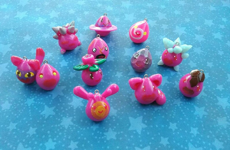 Slime Rancher - Largo Slimes (Pink) - Slime Charms - Game charms