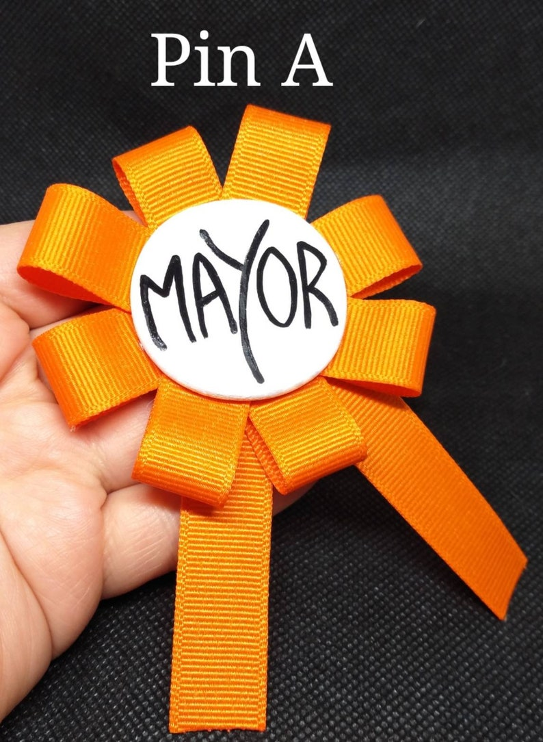 Mayor Pin Two face mayor Pin-The Nightmare Before Christmas