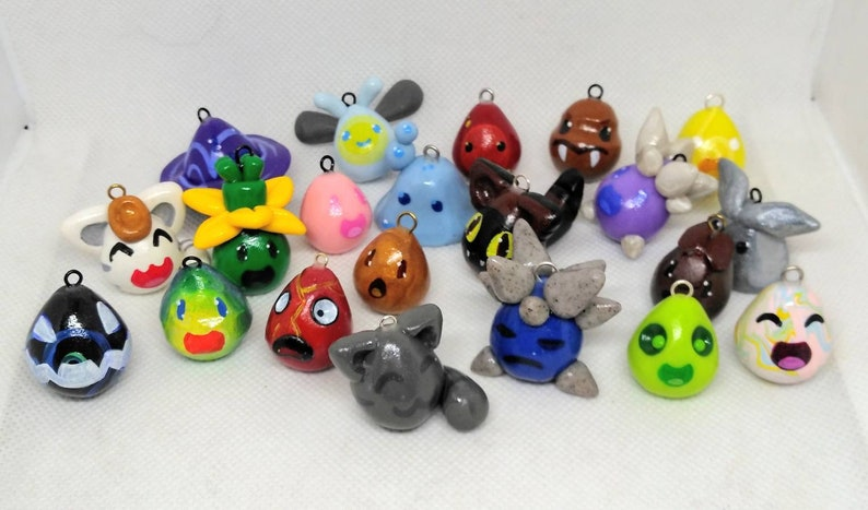 Slime Rancher charms from Slime Rancher