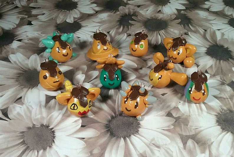 Slime Rancher charms- Largo Slimes (Honey Largo) game charms
